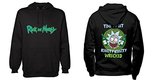 Rick and Morty - Riggity Riggity Wrecked (Kapuzenpullover)