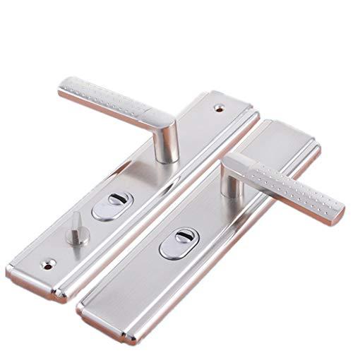 YACHENG Anti-Theft Door Lock Door Handle, Large Panel Handle Hand-held Steel Plate (no Lock Core Without Lock Body) Multi-Function Universal Door Handle