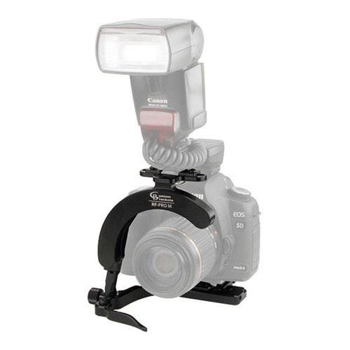 Pro Flash Bracket (Custom Brackets Rapid Fire PRO Flash-Rotating Bracket with RC2 Quick Release Receiver)