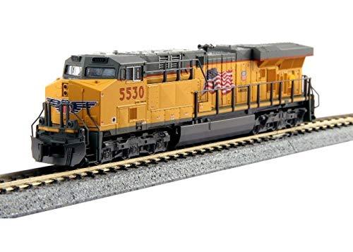 (Kato USA Model Train Products N GE ES44AC Gevo Union Pacific Locomotive #5530 Train)