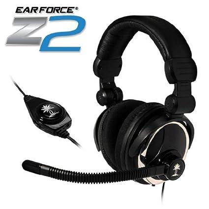 dedff69ba95 Amazon.com: Turtle Beach TBS-2052 Ear Force Z2 Professional Grade PC Headset  (Black): Electronics