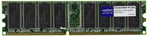 512MB Pc266 (pc2100) Ddr 64x64 184-pin 2.5v (512 Mb Ddr 184 Sdram Pin)