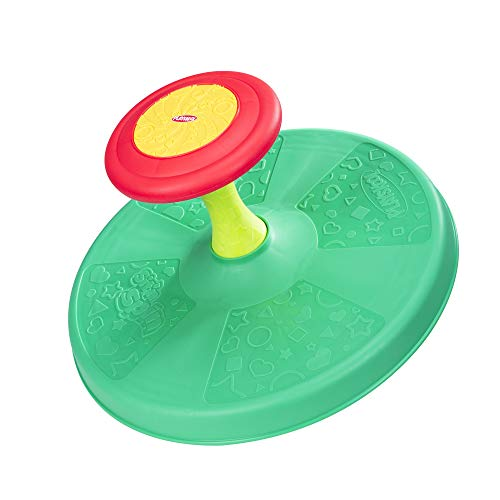 Playskool Sit 'n Spin Classic Spinning Activity Toy for Toddlers Ages Over 18 Months  (Amazon Exclusive) (Things That Start With D For Preschool)