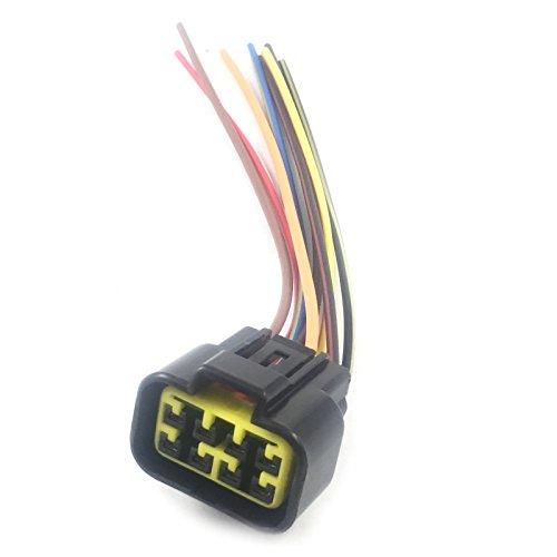 amazon com cdi wire cable harness plug connector for cdi box 2 5 pin cdi box wiring diagram kymco cdi box ac plug wiring harness