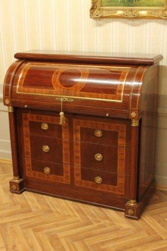 Barock Sekretär LouisXV Antik Stil Bureau Plat MoSc0807
