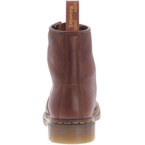 BROWN 8 11822212 Eye Boot cuero de Botas Martens Marrón Dr unisex 1460 pqEXw6YU