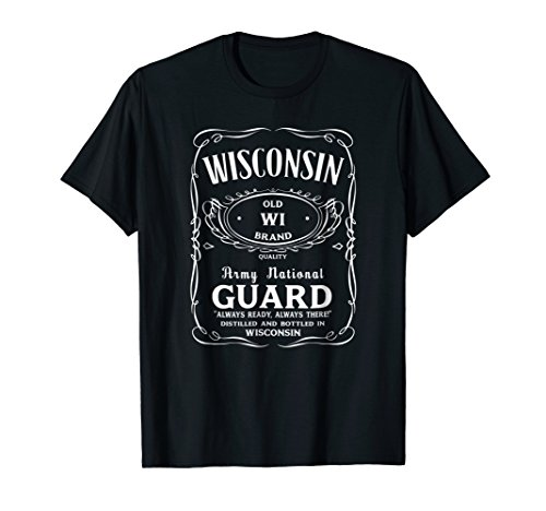 (Wisconsin Army National Guard Shirt)