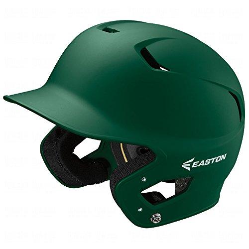EASTON Z5 2.0 Batting Helmet | Baseball Softball | Junior | Matte Green | 2020 | Dual-Density Impact Absorption Foam | High Impact Resistant ABS Shell | Moisture Wicking BioDRI Liner | Removable E