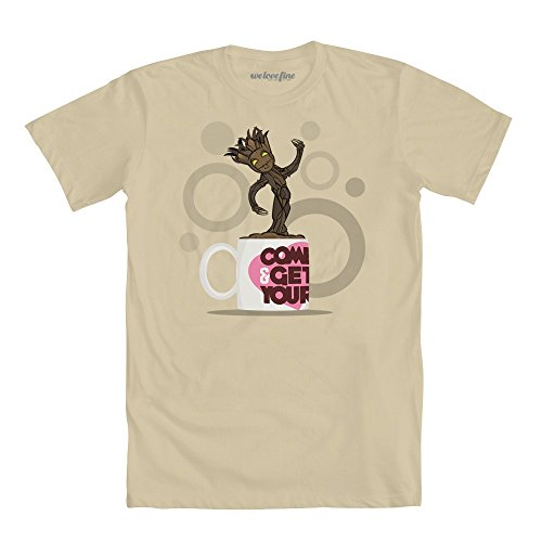 Guardians of the Galaxy Cup of Groot Juniors T-Shirt 2X