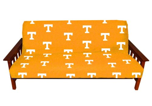 College Covers Tennessee Volunteers Futon Cover - Full Size fits 6 and 8 inch mats from College Covers