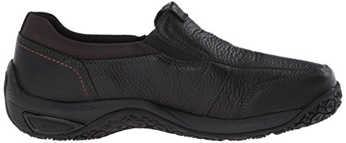 Dunham Mens Litchfield Waterproof Slip-On Loafer,Black,10 2E US Black