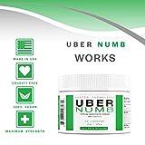 Uber Numb 5% Lidocaine Topical Numbing Cream, 2