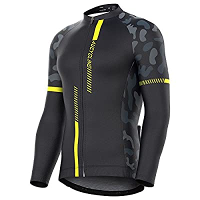 4ucycling Professional Men's Long Sleeve Comfortable Cycling Jersey or Compression Tights Team Edition