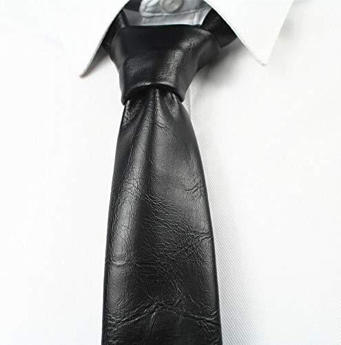 LLZGPZLD Corbata/Diseño De Moda para Hombre Corbata De Cuero Lazo ...