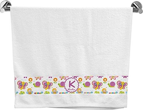 Towel Garden Bath Butterfly (RNK Shops Butterflies & Stripes Bath Towel (Personalized))