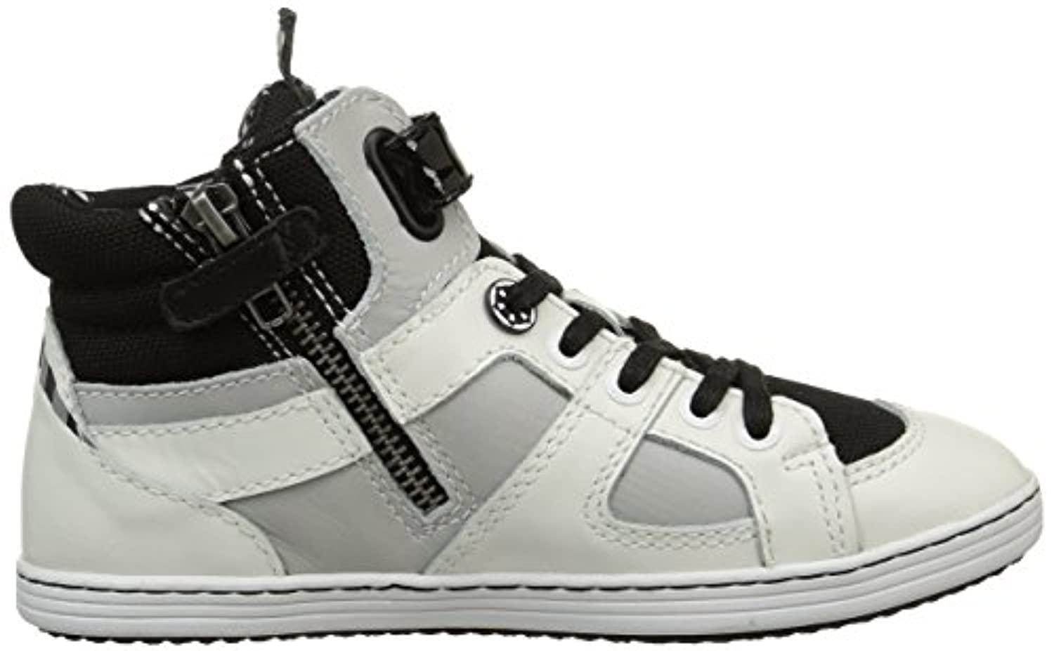 Kickers Boys Galactic High Sneakers White Size: 1
