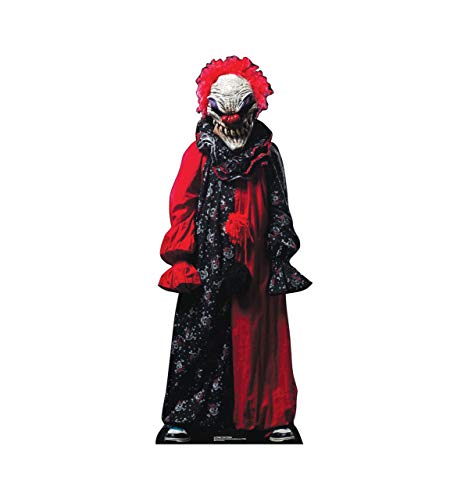 Gatton Creepy Clown - Outdoor Life Size Stand-UP - New Halloween Decoration 2636