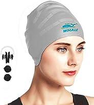 Swim Cap Italian Pizza Swimming Caps Hat for Women Men Adult Spandex Bathing Caps Long Short Hair Ladies Swim Hat Swimming Accessories Water Sports