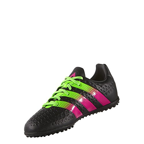 adidas Kinder Fussballschuhe ACE 16.3 TF J CBLACK/SGREEN/SHOPIN 36