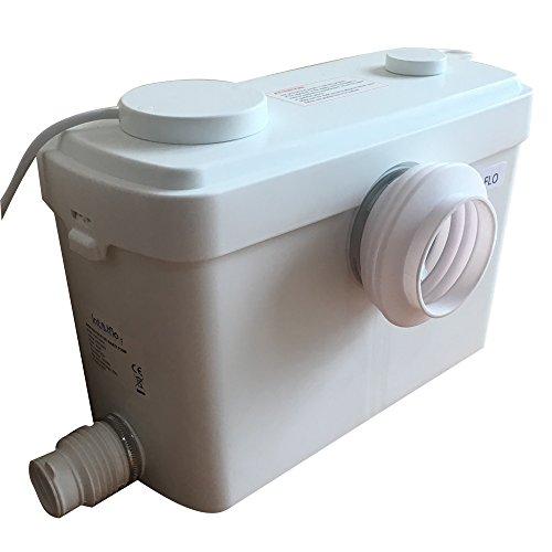Toilet Macerating Pump,Kitchen Waste Water Disposal Pump,Reamer crush Function,Automatic start stop,AC 110V 600W High Power Saving Function Toilet Macerator Pump ()