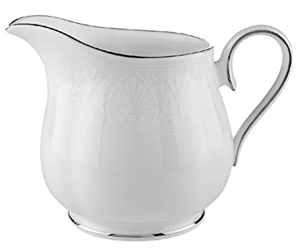 Amazon.com: Lenox Hannah Platinum Bone China Creamer: Kitchen & Dining