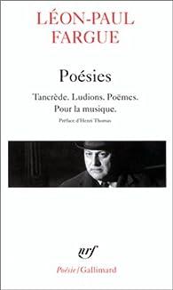 Poésies par Léon-Paul Fargue