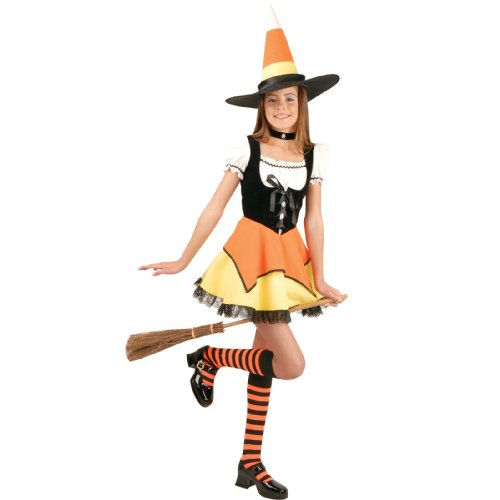 tume - Teen Small (Candy Corn Witch Teen)