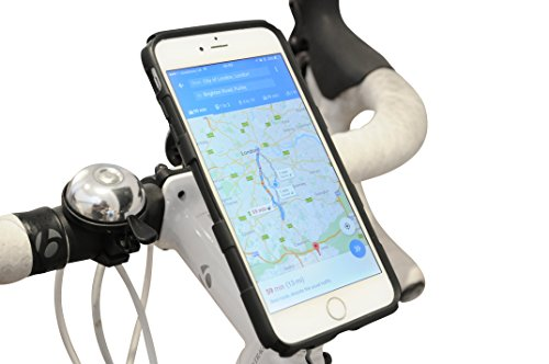 Stem Mount Kit (Xponent Bike Phone Stem Cap Mount Kit | Premium Universal Mobile Phone Holder | Extra Secure Fit | Supports iPhone 6/6s, 6/6s Plus, 5, 5s - Galaxy S4/S5/S6 Edge - And Many More)