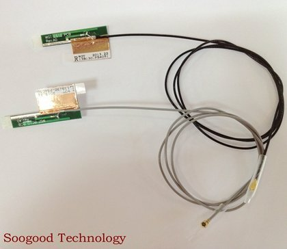 Bluetooth Express Laptops (New Pair Laptop Wireless Mini PCI PCI-E WIFI Bluetooth Internal Antenna)