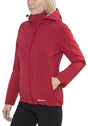L Jacket jacket red Colorado winter High Women 2016 Chicago dunkelrot qfxEqw7H