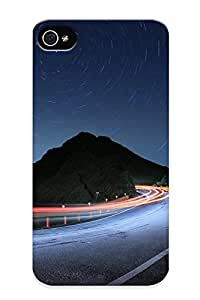 Illumineizl Shock-dirt Proof Traffic On The Serpentine Case Cover Design For Iphone 4/4s - Best Lovers' Gifts