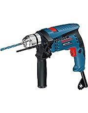 Bosch Professional Klopboormachine GSB 13 RE (600 W, Incl. Diepteaanslag 210 Mm, Snelspanboorhouder 13 Mm, In Doos), Blauw