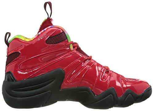 Basket Chaussures 8 Pour Noir Rouge De Crazy Adidas Hommes pR1nP1I