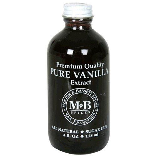 - Morton & Bassett Pure Vanilla Extract, 4-Ounce Jars (Pack of 3)