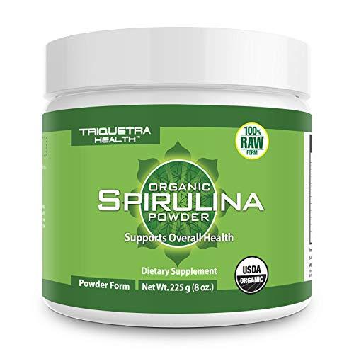 Organic Spirulina Powder: 4 Organic...