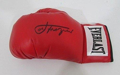 Joe Frazier Autograph (Joe Frazier Signed Boxing Glove JSA F72616 - Authentic Signed Autograph)