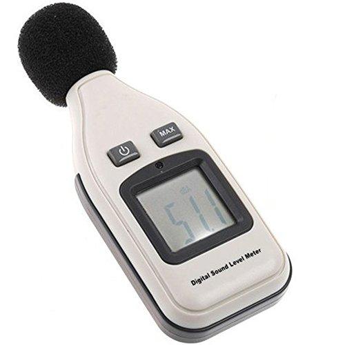 amzdeal® Schallpegelmessgerät Digital LCD