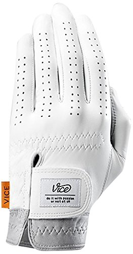 Vice Golf Men's Pure Golf Glove, Worn on Left Hand, Medium/Large