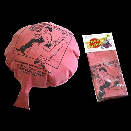 クラシックピンク リインフレータブルフーピークッション 誕生日パーティー記念品バッグ詰め物 子供用 8インチ 3個パック