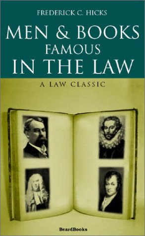 Famous Men With Beards (Men and Books Famous in the Law)