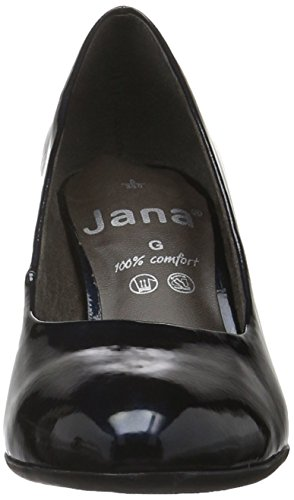 Damen Jana Navy 801 Met Pat Blau 22400 Pumps 5r7nIP87