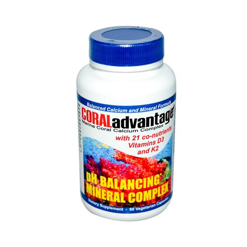 - Advanced Nutritional Innovations Coral Advantage - 90 Vegetable Capsules