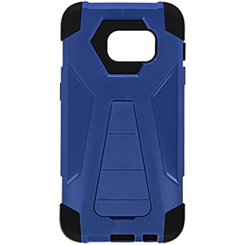 HR Wireless Carrying Case for Samsung Galaxy S7 - Retail Packaging - Dark Blue/Black Sales