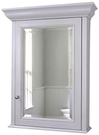 Robern CB MT20D4FHW Fairhaven Right Hand Medicine Cabinet, White