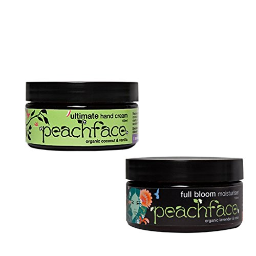 Peachface Teen Moisture Gift Set Full Bloom Moisturiser and Ultimate Hand Cream, 1500 Gram