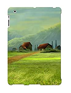 Ipad 2/3/4 Case Slim [ultra Fit] Green Paradise Protective Case Cover
