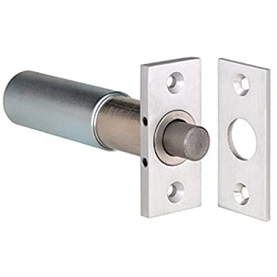 "SDC 1091AIV Aluminum Finish Mortise Electric Bolt Lock, Failsecure, 2-3/4"" x 1-1/4"" Face Plate, 5"" Depth (Pack of 1)"