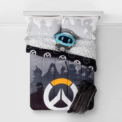 overwatch queen reversible comforter