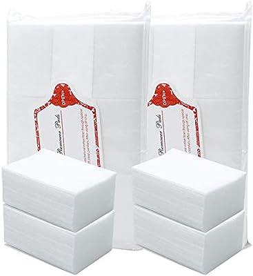 800 Piezas Almohadillas de Algodón de Limpieza de Uña, Sin Pelusas ...