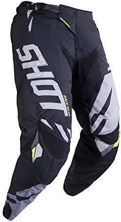 grigio//Neon Giallo Taglia 30us SHOT Pantaloni Cross Aerolite Delta